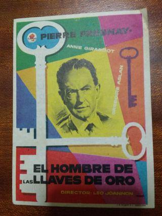 PROGRAMA DE CINE 1958 EL HOMBRE DE LAS LLAVES DE O