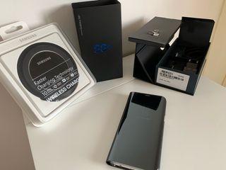 Samsung Galaxy s8+, Clear View y base de carga