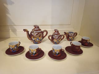 Juego Te o cafe porcelana CHINA EIHO
