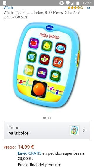 Baby tablet Vtech