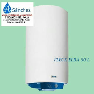 termo eléctrico Fleck 50 litros