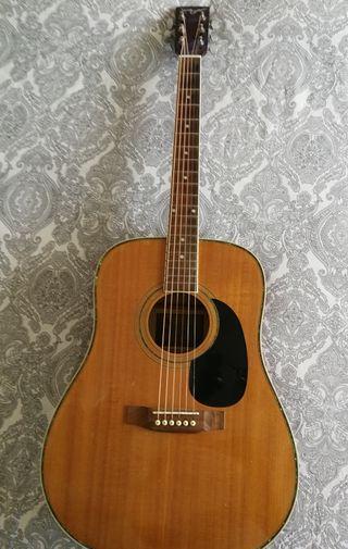 Guitarra +funda mochila