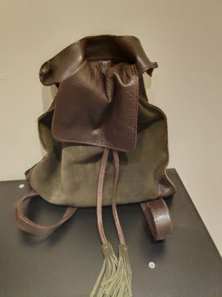 Bolso/mochila piel