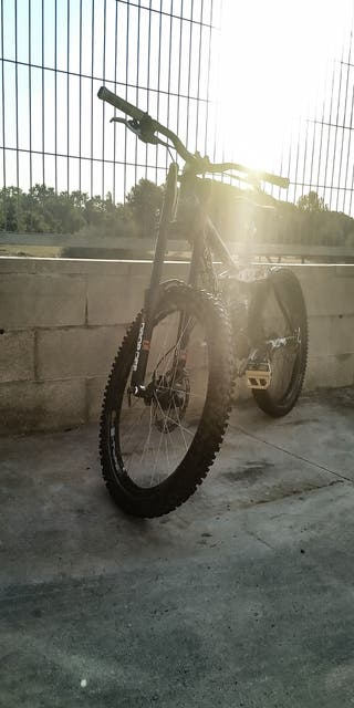 urge bicicleta descenso enduro dh doble suspension