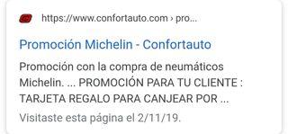 ofertas neumaticos hankook.. michelin.. continenta
