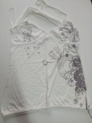 Camiseta tirante doble talla L
