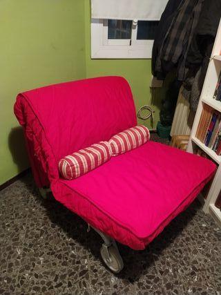 Ikea sillon cama individual