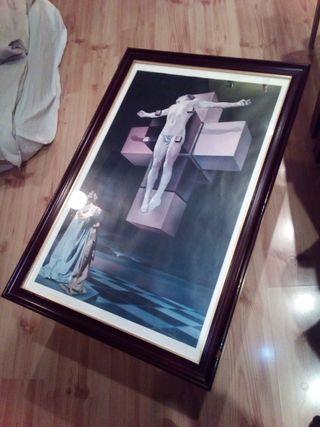 Cuadro crucifixion Dalí
