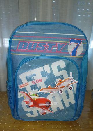 mochila escolar aviones Dustin