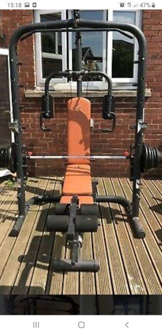 maquina musculacion