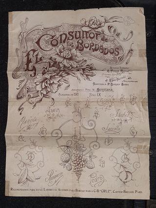 Antiguo Cuadernillo, El Consultor de los Bordados