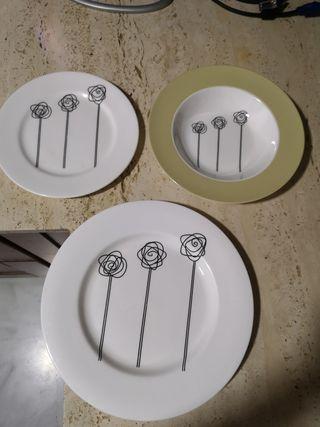 Juego de platos