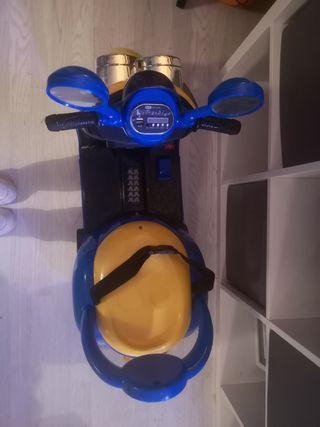 minion battery operated moped