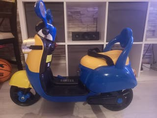 minion battery operated moped