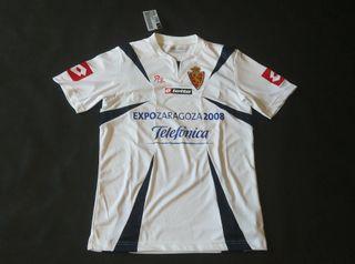 camiseta real Zaragoza 2008 talla ele nueva