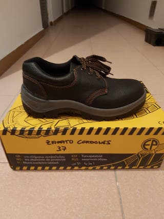 Zapatos de seguridad número 37