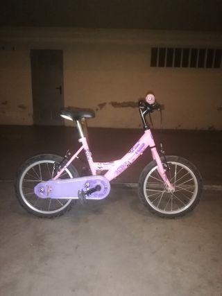 bicicleta infantil para niña