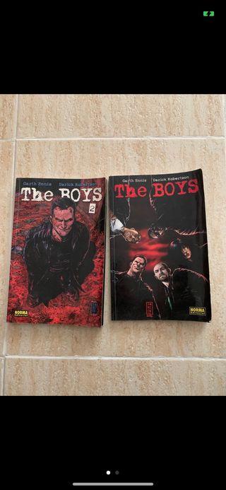 Pack Cómics The boys 1 y 2