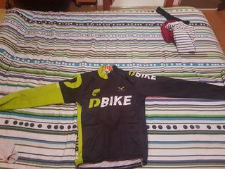 Equipacion ciclismo Taymory