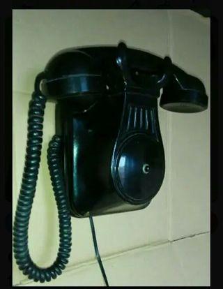 teléfono antiguo supletorio de baquelita