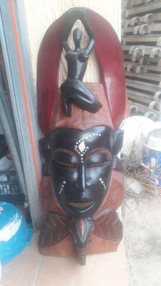 mascara africana para decoracio