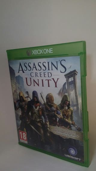 Juego Xbox One Assasins Creed Unity