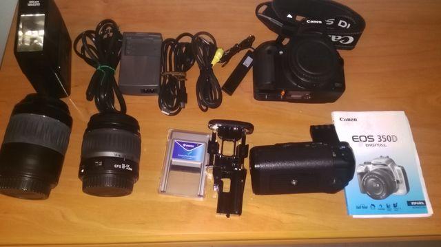 canon eos digital 350d equipo completo