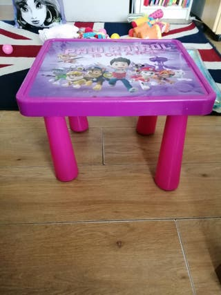 paw patrol table