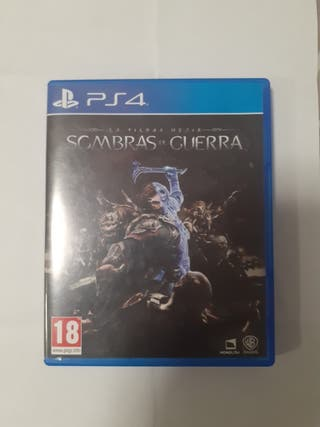 Sombras de Guerra PS4