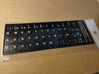Pegatina teclado ES