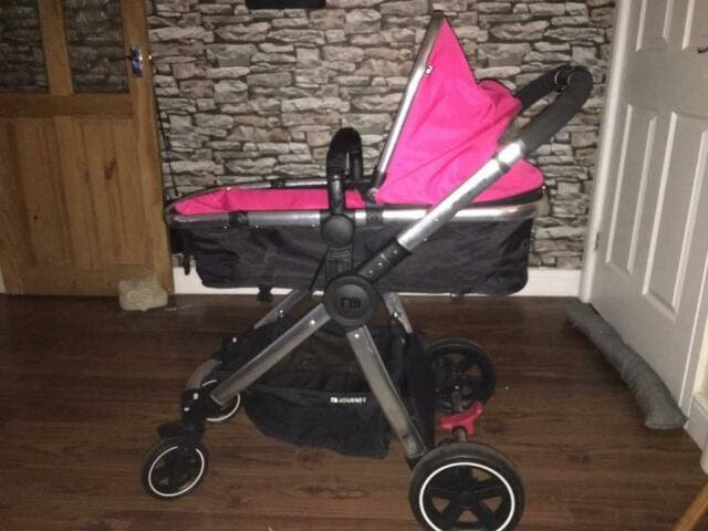 mothercare journey pink