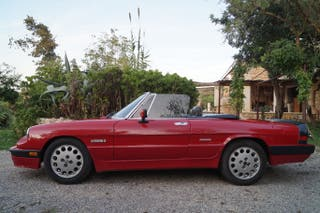 Alfa Romeo Spider Quadrifoglio Clasico Año 1986