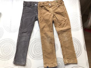 Pantalones niño niña 4-5 años