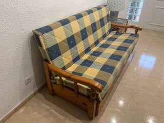 Sofá con cama nido
