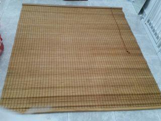 estor persiana bambú