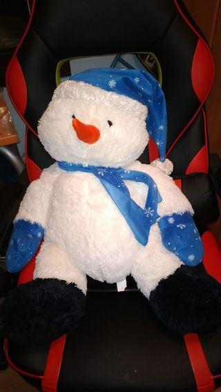 Muñeco de nieve de 70 cms