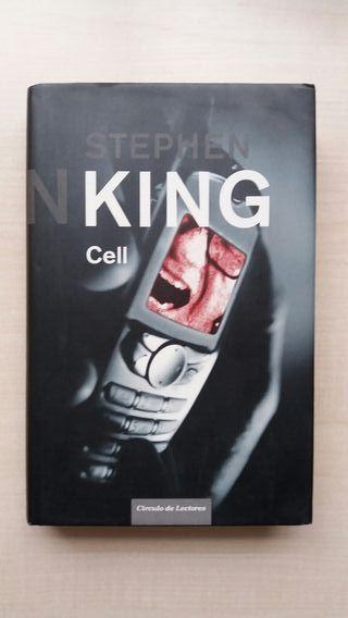 Libro Cell. Stephen King. Círculo de lectores.