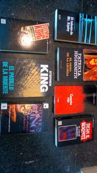 Varios novela terror/misterio