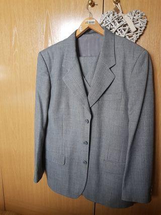 Traje caballero completo (3 piezas) color gris