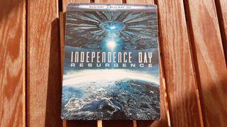 Independence Day Resurgence Bluray Steelbook