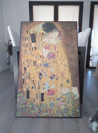 """Cuadro """"EL BESO"""" de Klimt"""