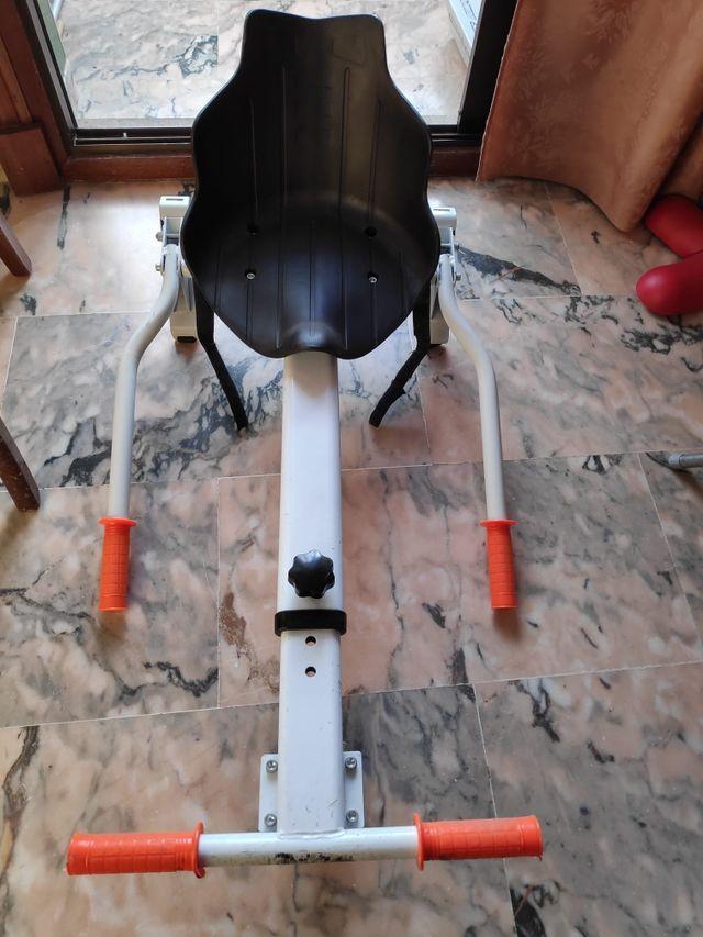 Hoverboard eléctrico (SK8) con silla