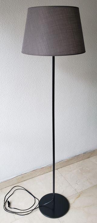 Base de lampara IKEA y campana