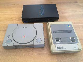 PS1 PS2 y Super Famicom (leer)