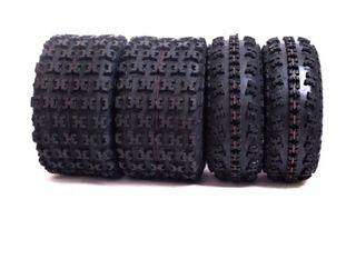 Combo 4 neumáticos quad