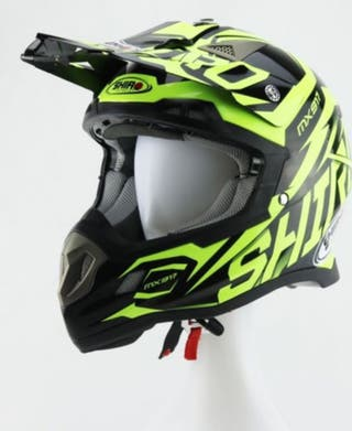 Casco shiro Motocross mx 917