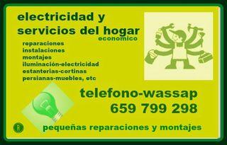 MANITAS DE HOGAR-SERVICIOS Y ELECTRICIDAD