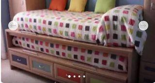 2 Colchas reversibles de cama de 90 cm