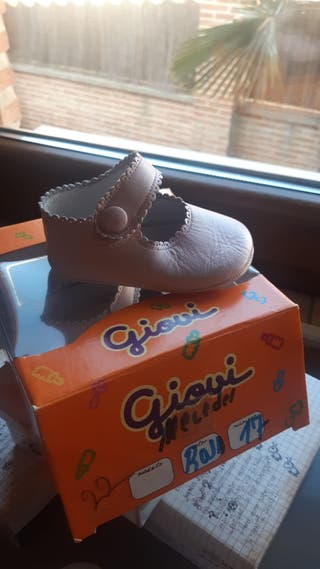 Zapato bebé 17 (ROSA)