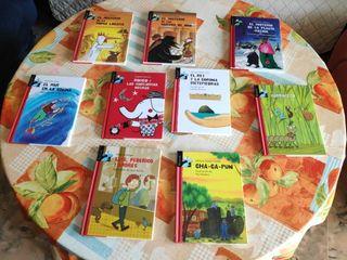 """Libros colección """"Librosaurio"""" (9 libros)"""